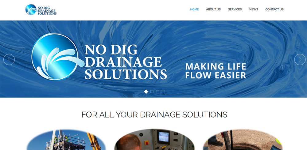 no dig drainage solutions uk
